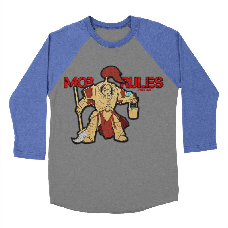 Jeff the Custodes 2.0 Mob Rules Logo Women's Baseball Triblend Longsleeve T-Shirt by Mob Rules Podcast
