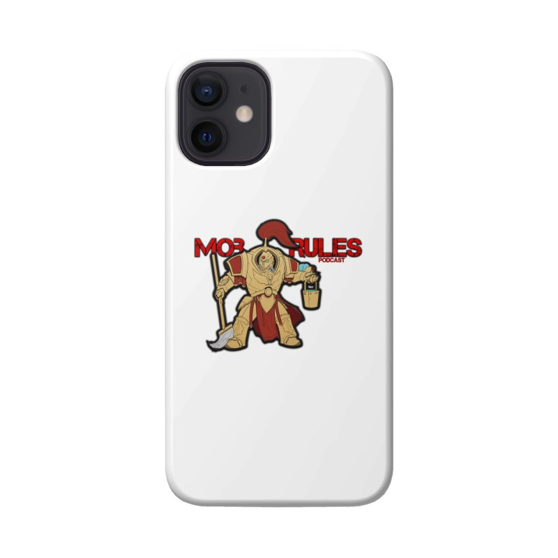 Jeff the Custodes 2.0 Mob Rules Logo Accessories Phone Case by Mob Rules Podcast