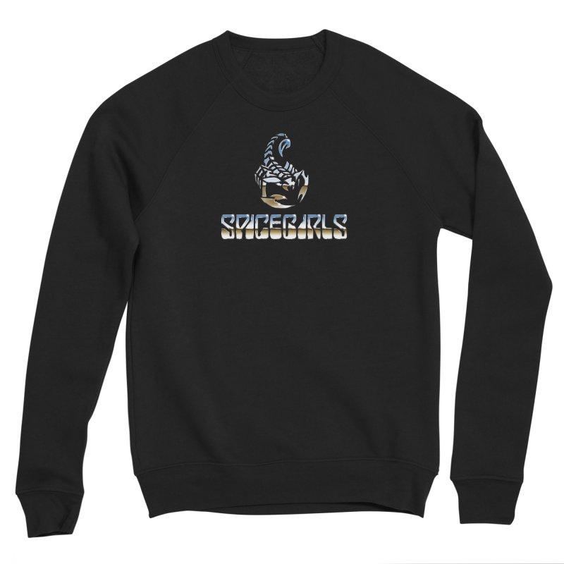 Scorpgirls Men's Sponge Fleece Sweatshirt by Mock n' Roll