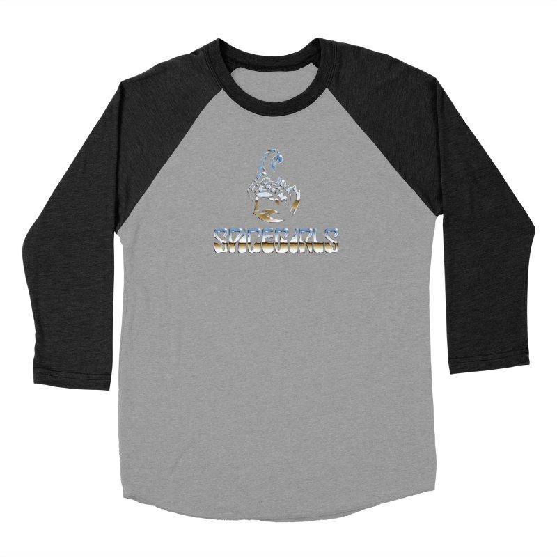 Scorpgirls Women's Baseball Triblend Longsleeve T-Shirt by Mock n' Roll