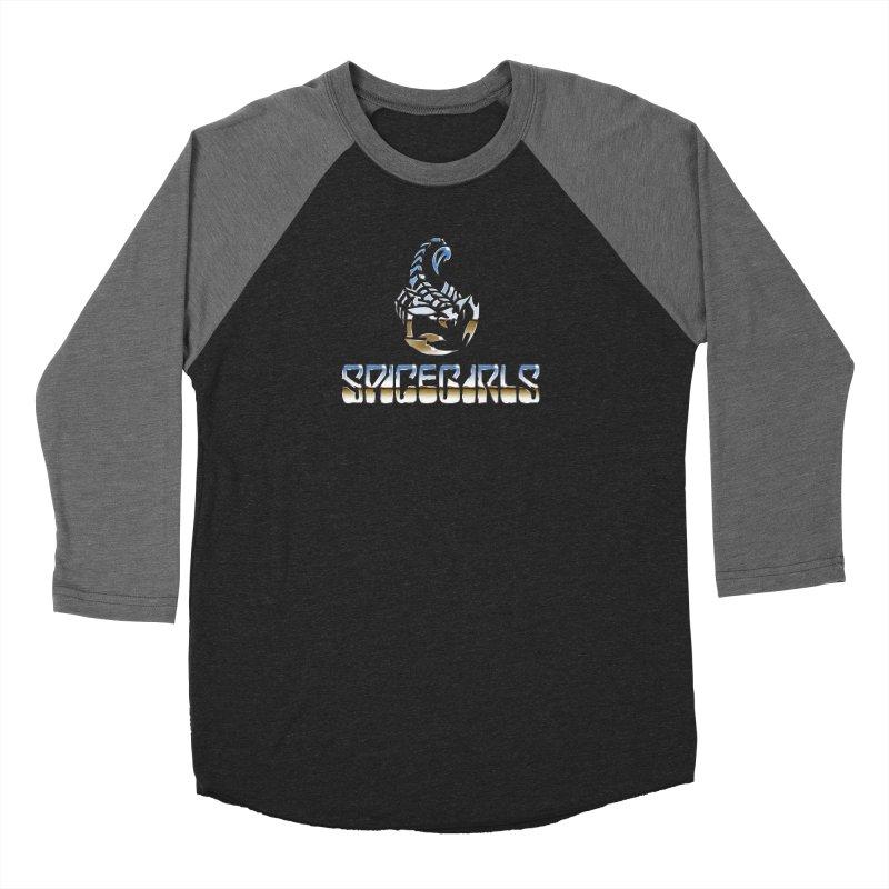 Scorpgirls Men's Baseball Triblend Longsleeve T-Shirt by Mock n' Roll