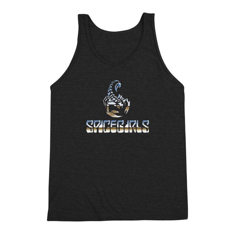 Scorpgirls Men's Triblend Tank by Mock n' Roll