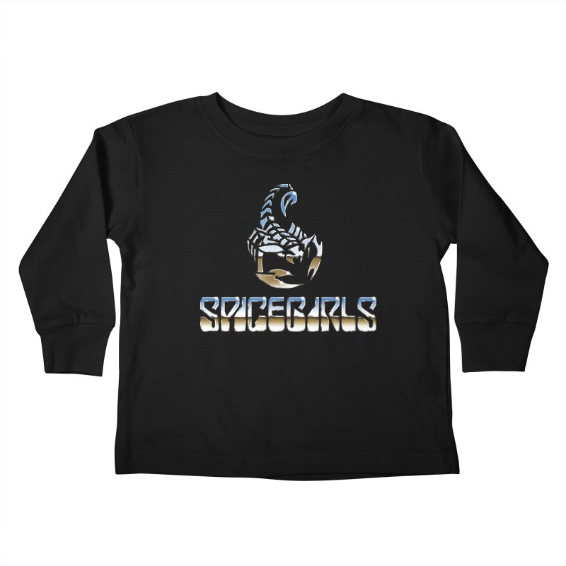 Scorpgirls Kids Toddler Longsleeve T-Shirt by Mock n' Roll