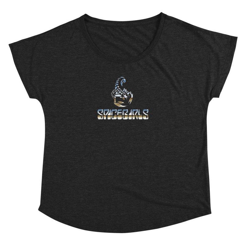 Scorpgirls Women's Dolman Scoop Neck by Mock n' Roll