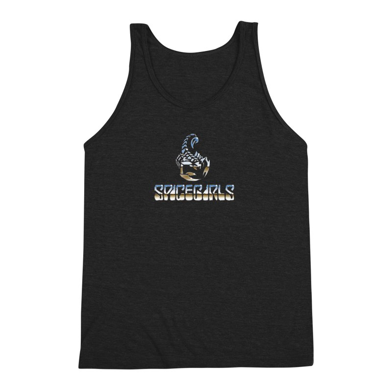 Scorpgirls Men's Triblend Tank by Mock n' Roll