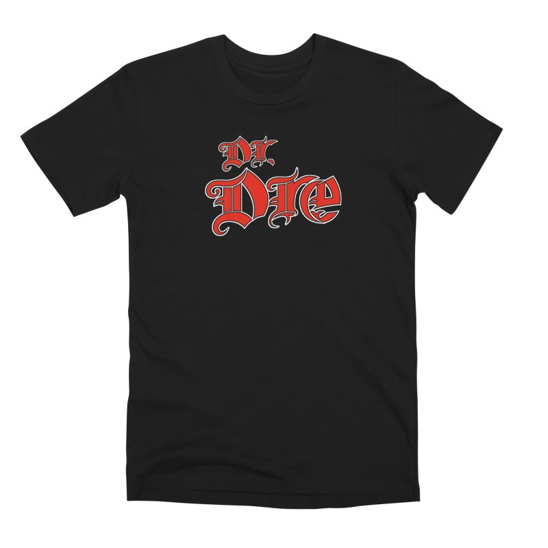 Rainbow in da Hood - Dio Dre Men's T-Shirt by Mock n' Roll