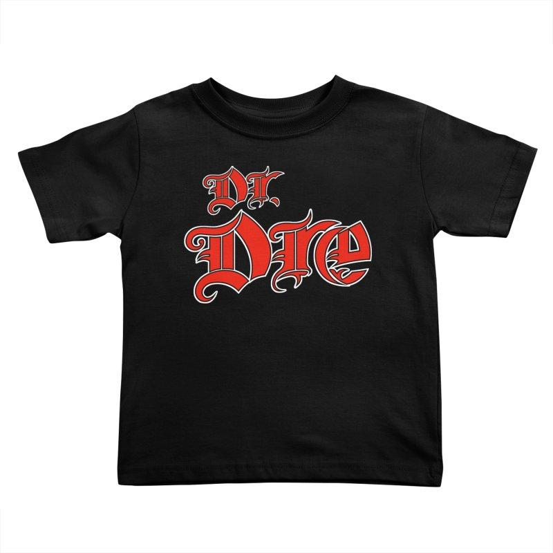Rainbow in da Hood - Dio Dre Kids Toddler T-Shirt by Mock n' Roll
