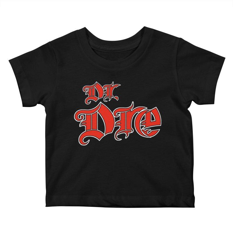 Rainbow in da Hood - Dio Dre Kids Baby T-Shirt by Mock n' Roll