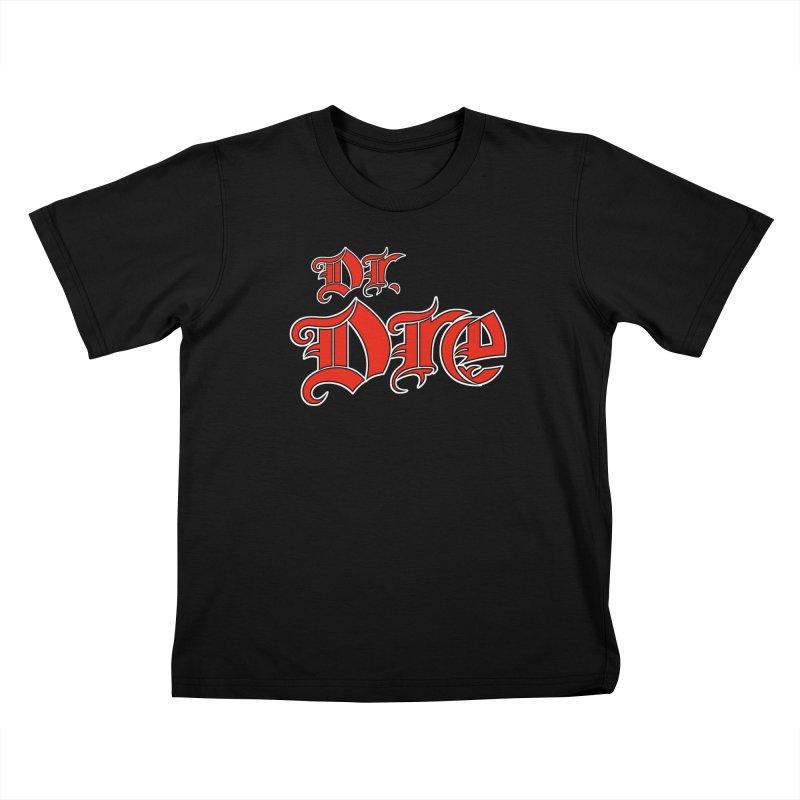 Rainbow in da Hood - Dio Dre Kids T-Shirt by Mock n' Roll
