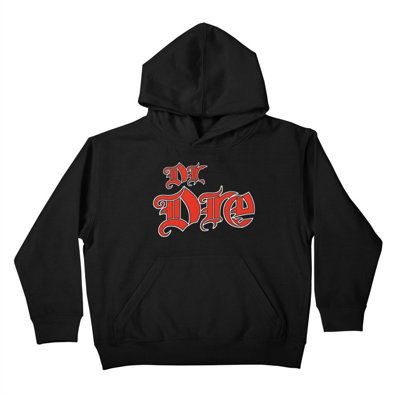 Rainbow in da Hood - Dio Dre Kids Pullover Hoody by Mock n' Roll