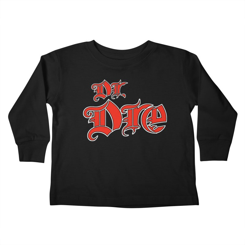 Rainbow in da Hood - Dio Dre Kids Toddler Longsleeve T-Shirt by Mock n' Roll