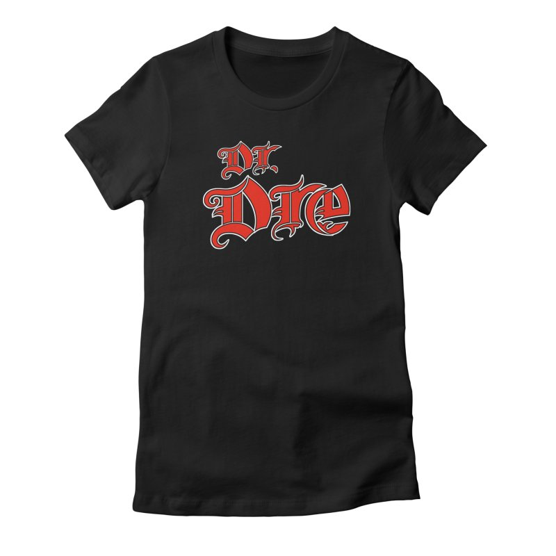 Rainbow in da Hood - Dio Dre Women's Fitted T-Shirt by Mock n' Roll