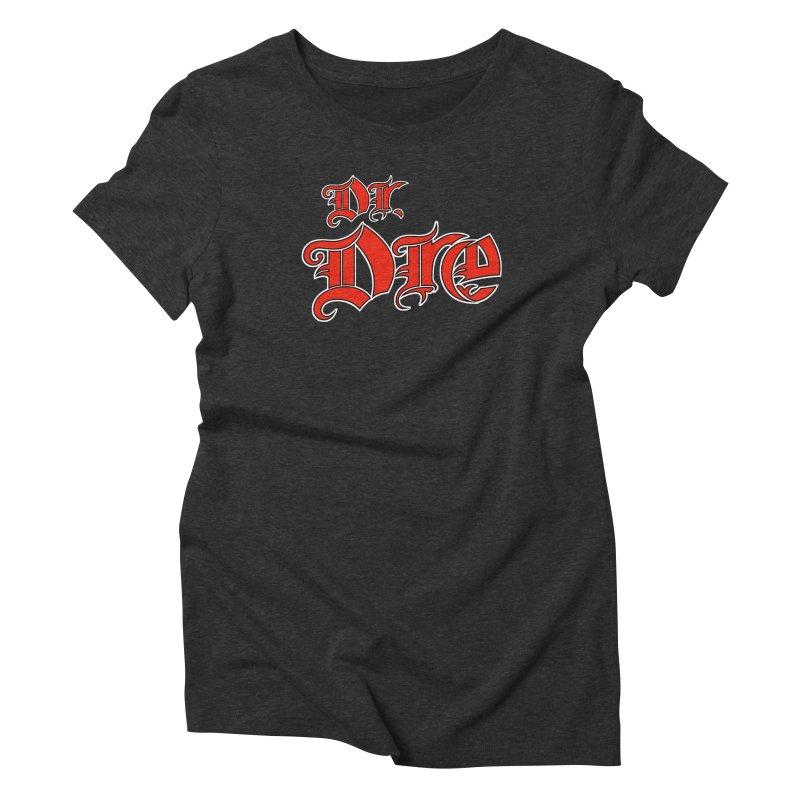 Rainbow in da Hood - Dio Dre Women's Triblend T-Shirt by Mock n' Roll