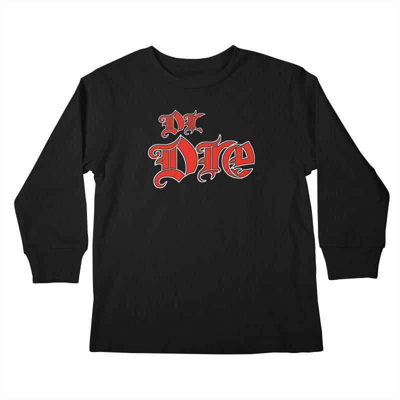 Rainbow in da Hood - Dio Dre Kids Longsleeve T-Shirt by Mock n' Roll