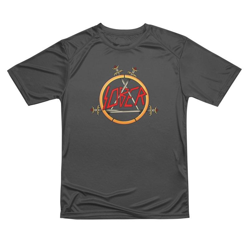 Slober Women's Performance Unisex T-Shirt by Mock n' Roll