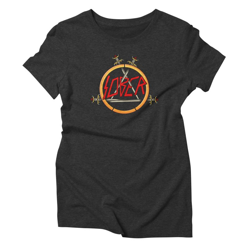 Slober Women's Triblend T-Shirt by Mock n' Roll