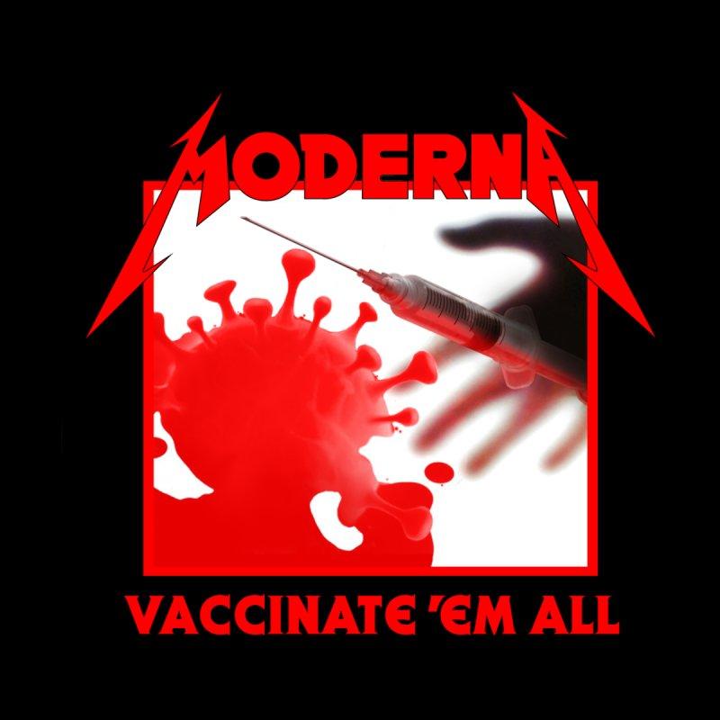 Moderna-Vaccinate 'Em All Women's Tank by Mock n' Roll
