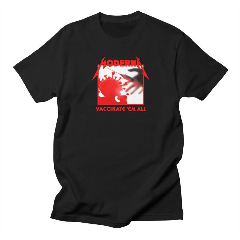 Moderna-Vaccinate 'Em All Women's T-Shirt by Mock n' Roll
