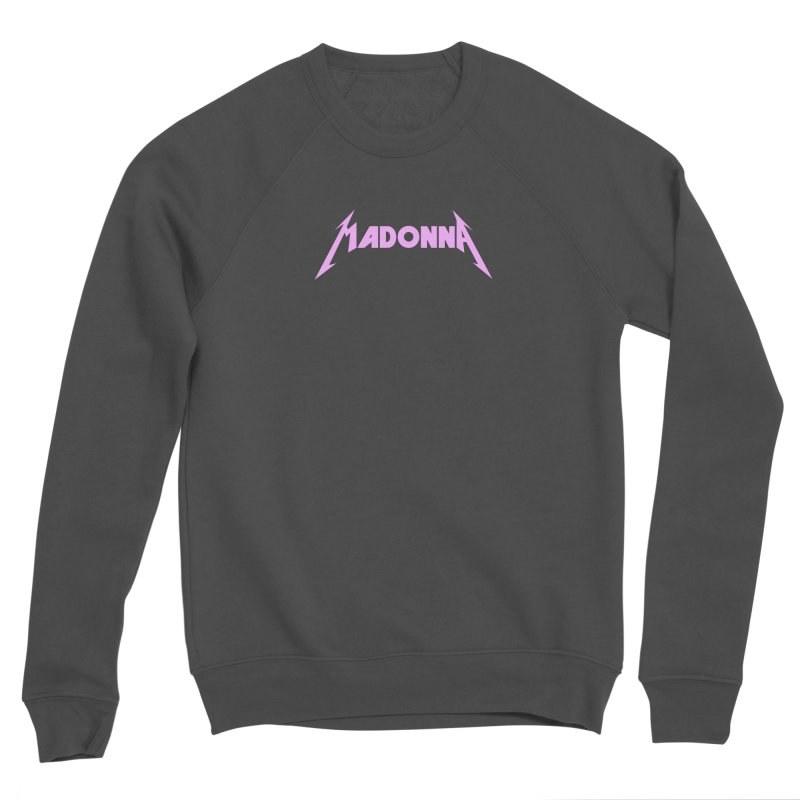 Metal Girl Pink Women's Sponge Fleece Sweatshirt by Mock n' Roll