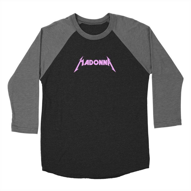 Metal Girl Pink Women's Baseball Triblend Longsleeve T-Shirt by Mock n' Roll