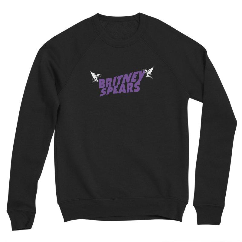 Britney Sabbath Angels Men's Sponge Fleece Sweatshirt by Mock n' Roll
