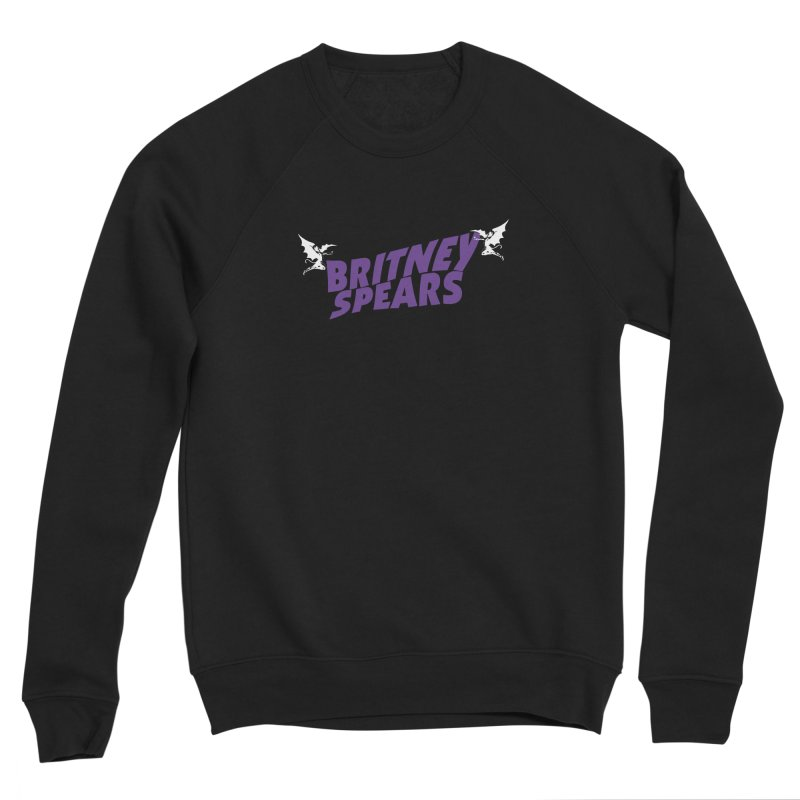 Britney Sabbath Angels Women's Sponge Fleece Sweatshirt by Mock n' Roll