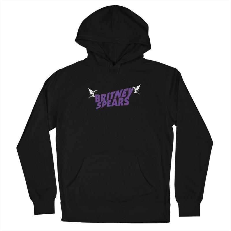 Britney Sabbath Angels Women's French Terry Pullover Hoody by Mock n' Roll