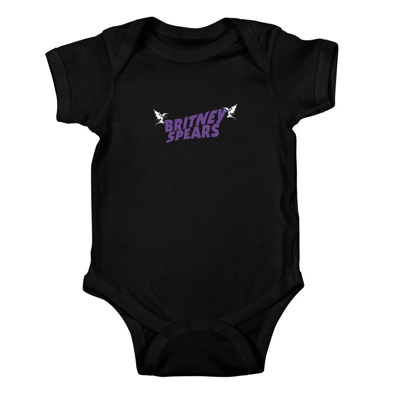 Britney Sabbath Angels Kids Baby Bodysuit by Mock n' Roll