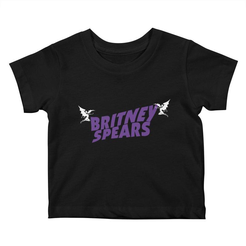 Britney Sabbath Angels Kids Baby T-Shirt by Mock n' Roll