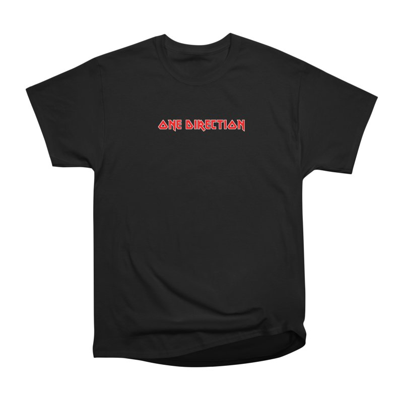 Iron Direction Men's Heavyweight T-Shirt by Mock n' Roll