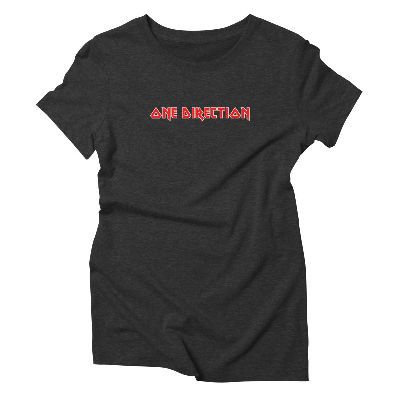 Iron Direction Women's Triblend T-Shirt by Mock n' Roll