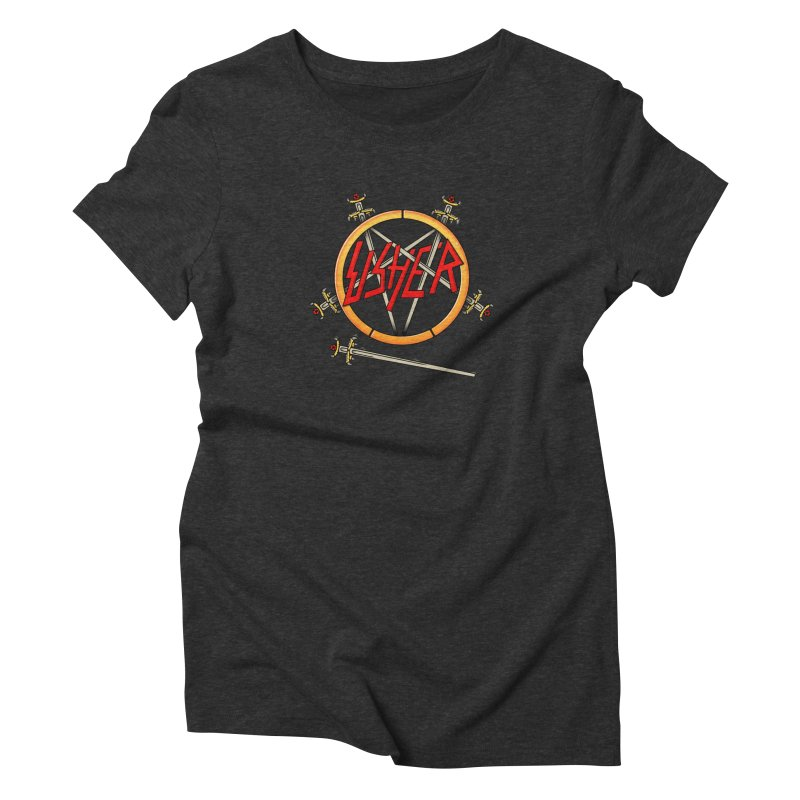 Slusher Deluxe Women's Triblend T-Shirt by Mock n' Roll