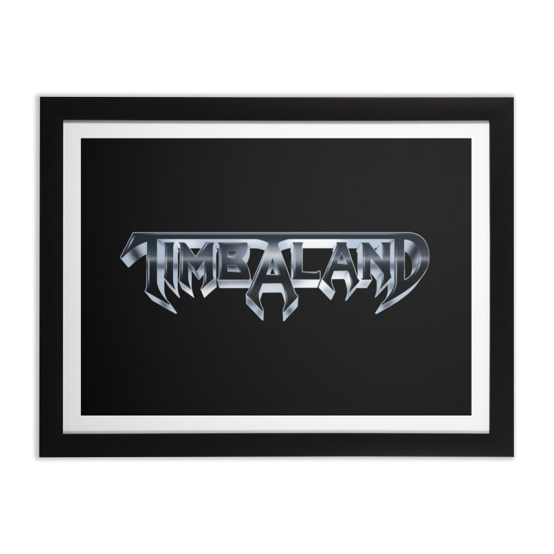 Testaland Home Framed Fine Art Print by Mock n' Roll