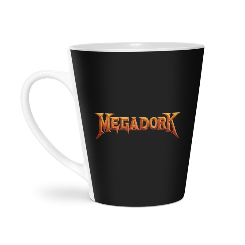 Megadork Accessories Latte Mug by Mock n' Roll