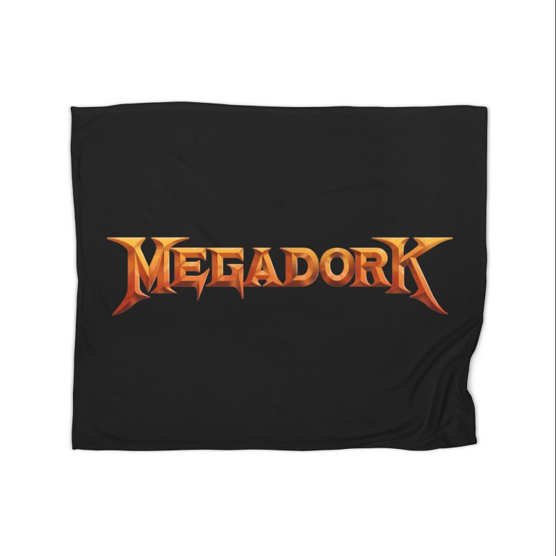 Megadork Home Fleece Blanket Blanket by Mock n' Roll