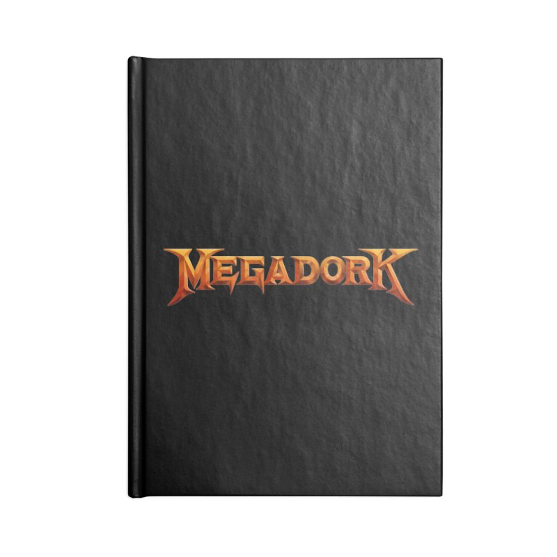 Megadork Accessories Blank Journal Notebook by Mock n' Roll