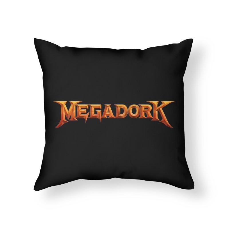 Megadork Home Throw Pillow by Mock n' Roll