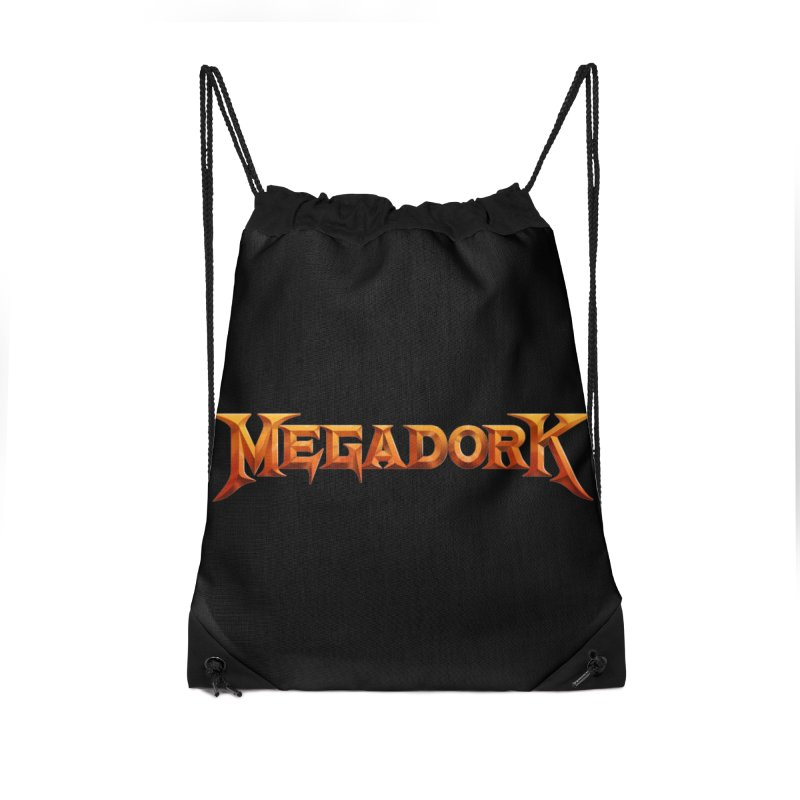 Megadork Accessories Drawstring Bag Bag by Mock n' Roll