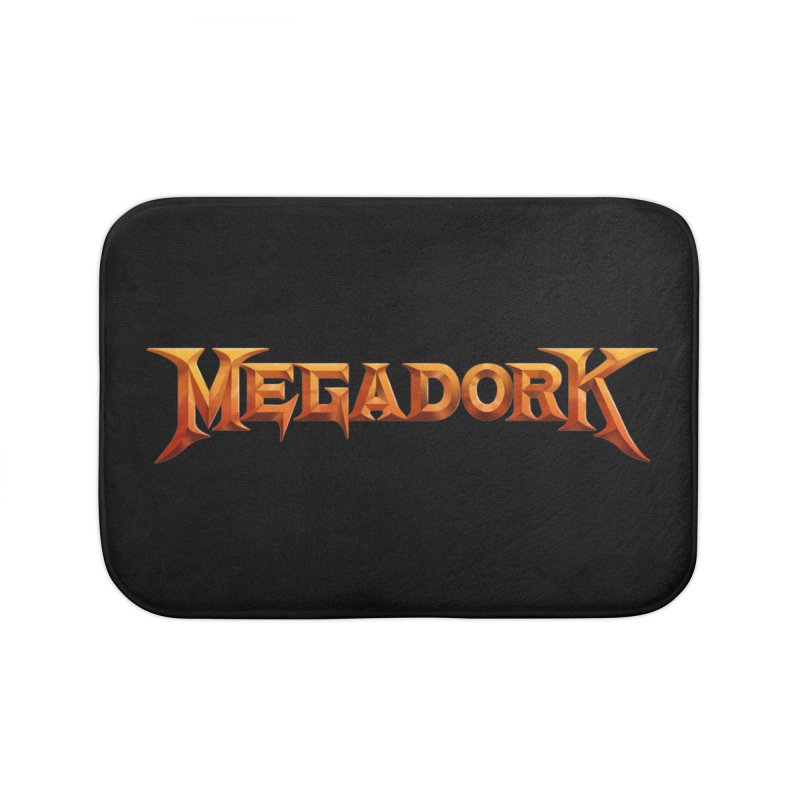 Megadork Home Bath Mat by Mock n' Roll