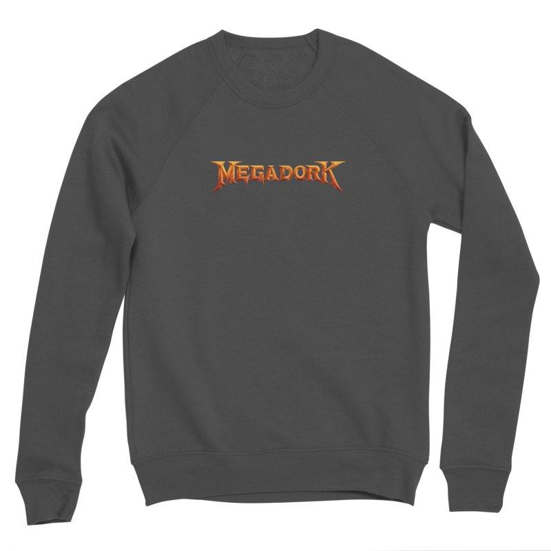 Megadork Women's Sponge Fleece Sweatshirt by Mock n' Roll