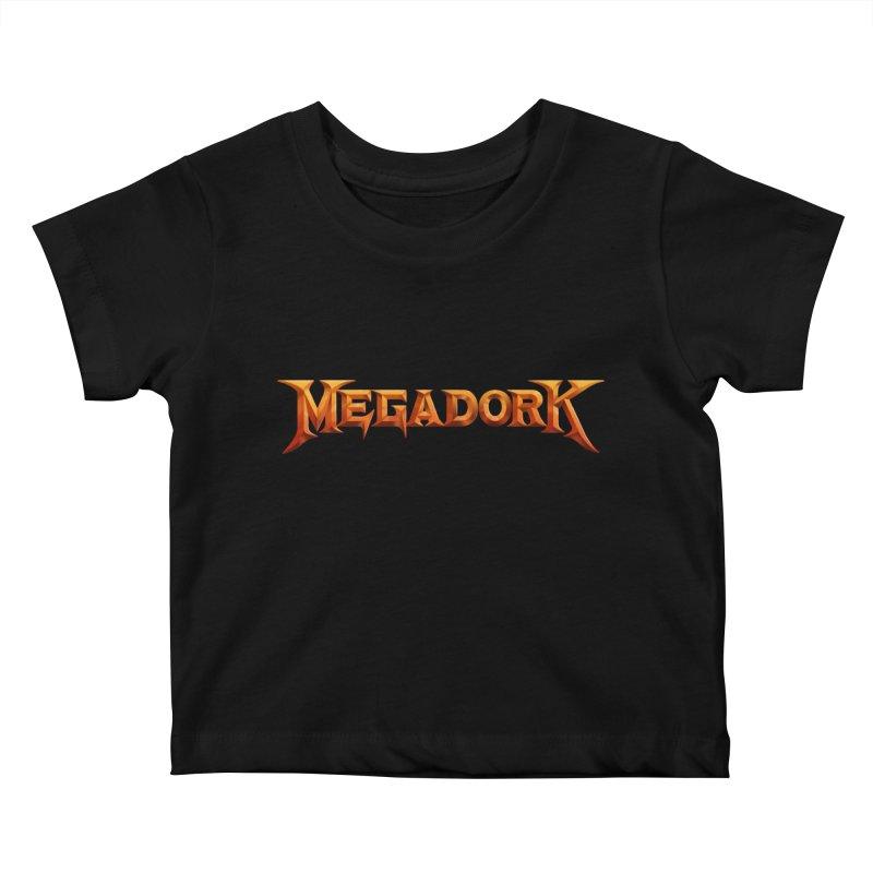 Megadork Kids Baby T-Shirt by Mock n' Roll