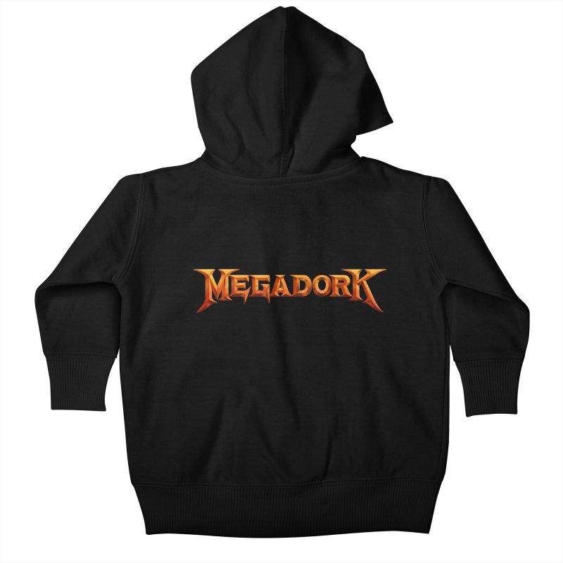 Megadork Kids Baby Zip-Up Hoody by Mock n' Roll