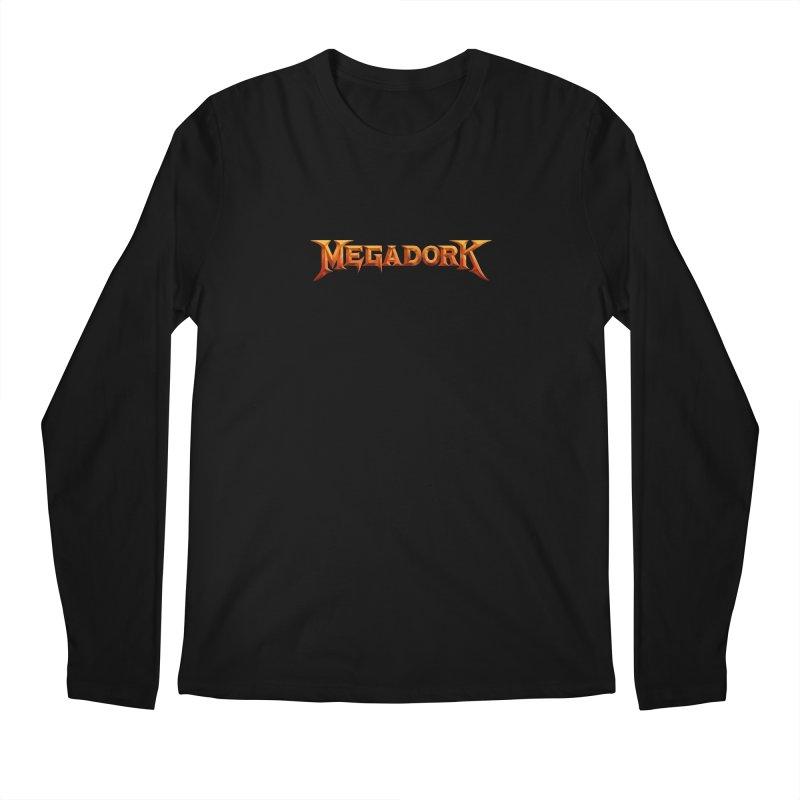 Megadork Men's Regular Longsleeve T-Shirt by Mock n' Roll