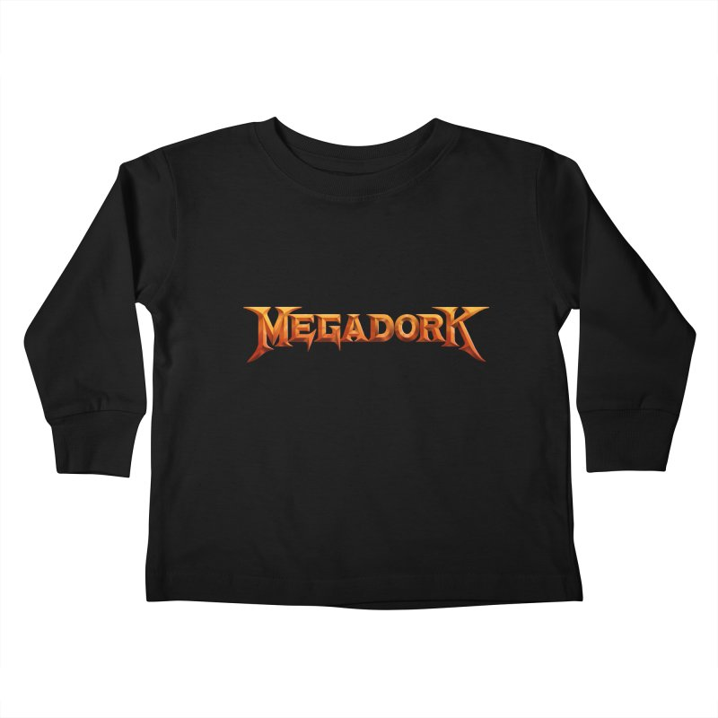 Megadork Kids Toddler Longsleeve T-Shirt by Mock n' Roll