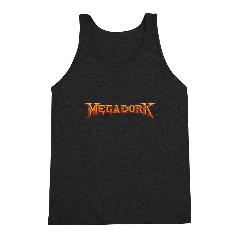 Megadork Men's Triblend Tank by Mock n' Roll