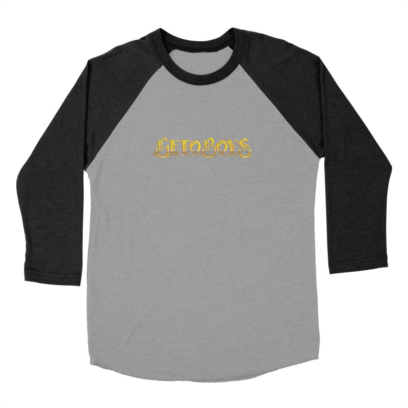 O. Gees Bling Men's Baseball Triblend Longsleeve T-Shirt by Mock n' Roll