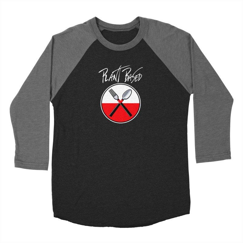 Plant Floyd-Wish you were Vegan Women's Baseball Triblend Longsleeve T-Shirt by Mock n' Roll