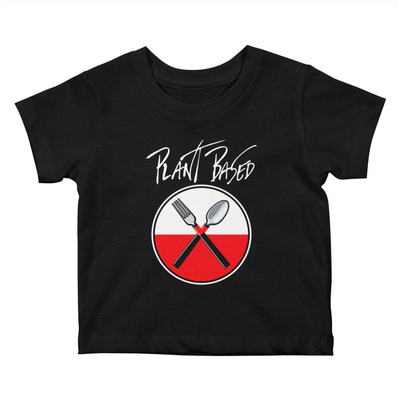 Plant Floyd-Wish you were Vegan Kids Baby T-Shirt by Mock n' Roll