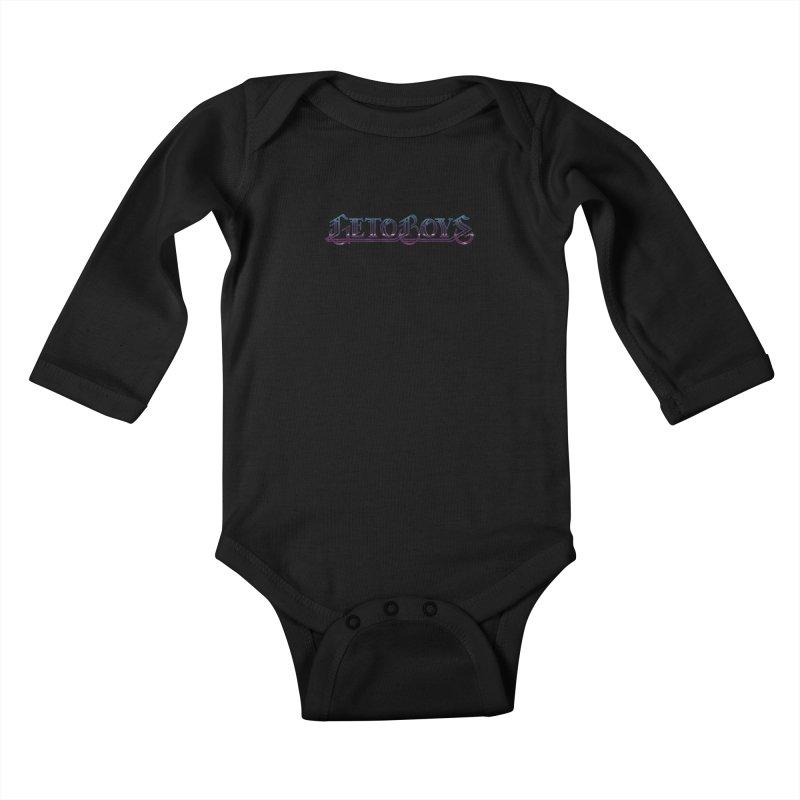 O.Gees Neon Kids Baby Longsleeve Bodysuit by Mock n' Roll
