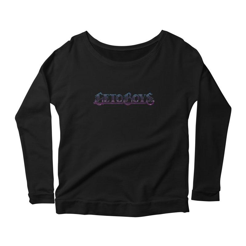 O.Gees Neon Women's Scoop Neck Longsleeve T-Shirt by Mock n' Roll
